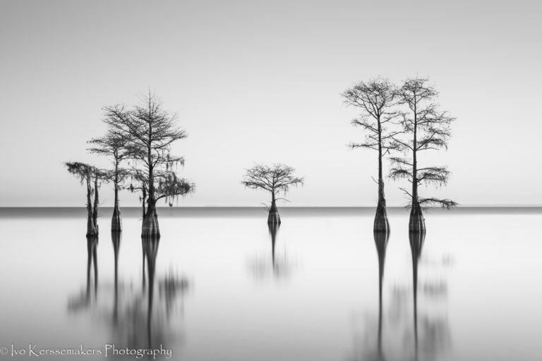 Ivo Kerssemakers, Black and White, Long Exposure, Lake Moultrie, South Carolina