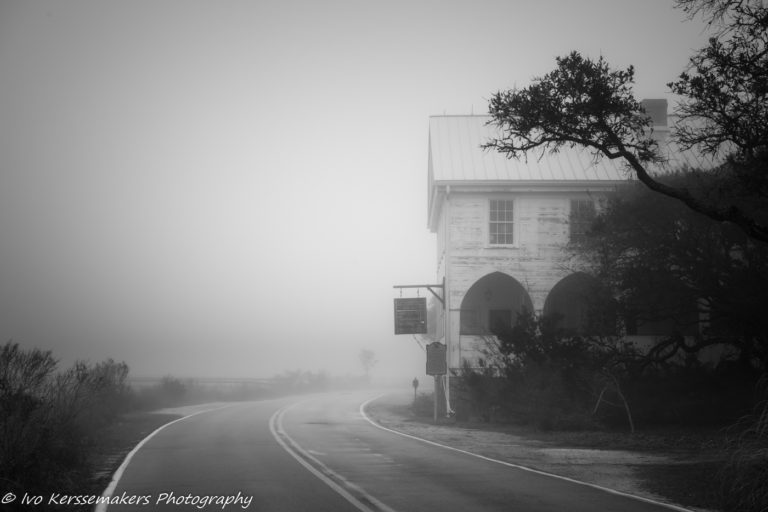 Ivo Kerssemakers, Black and White, Long Exposure, Pawleys Island, Pelican Inn